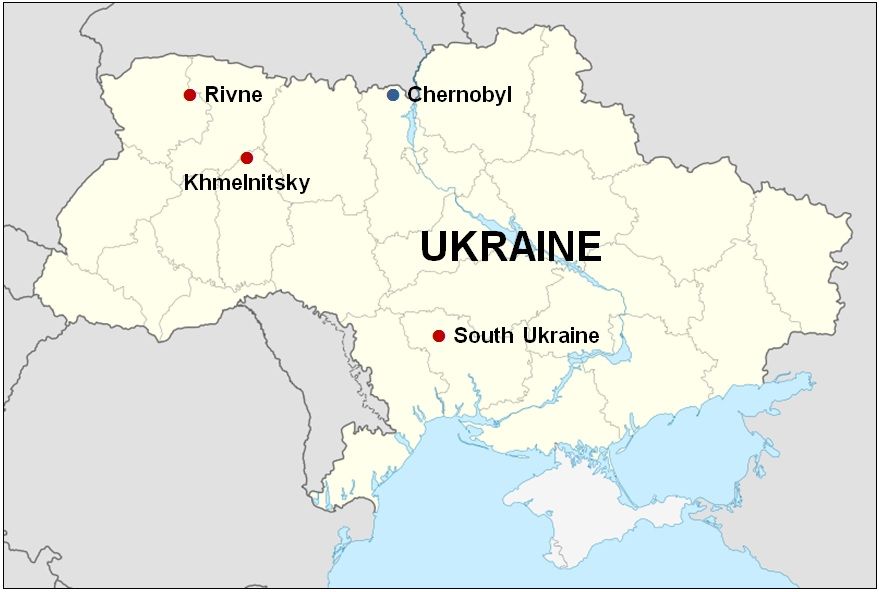 Ukraine location map