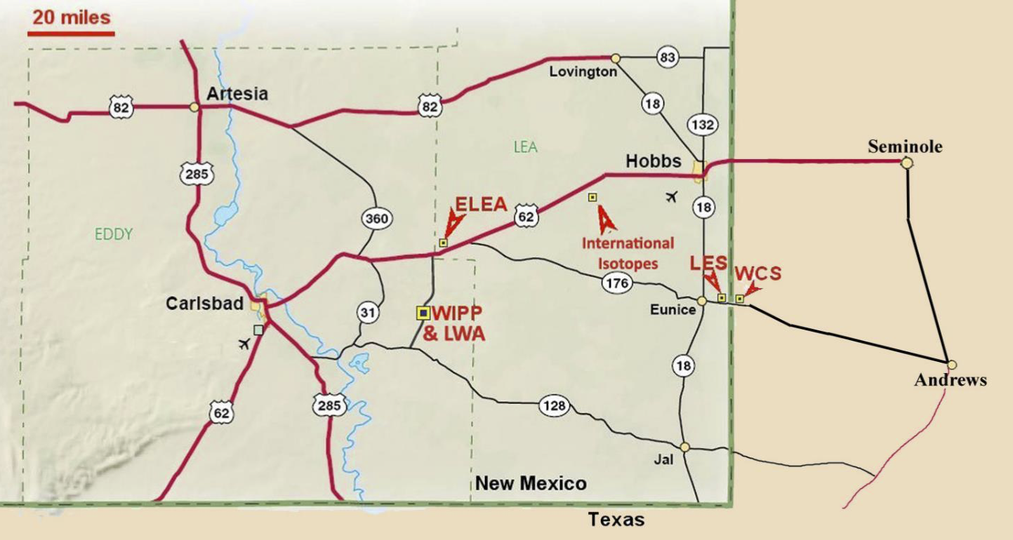 The ELEA site in New Mexico.