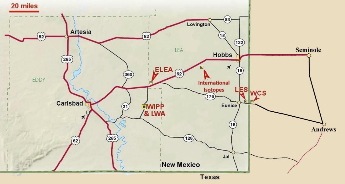 The ELEA site in New Mexico.