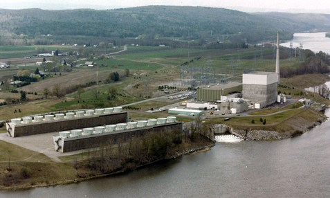 Ariel View of Vermont Yankee Nuclear Station